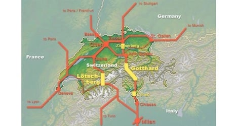 Gotthard base tunnel set to open in two years