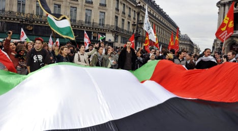 French MPs back motion to recognize Palestine