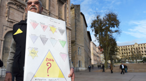 Outrage forces Marseille to bin yellow triangle IDs