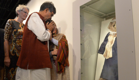 Malala weeps at sight of bloodied school uniform