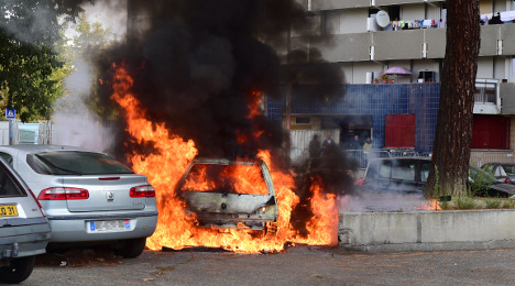 France sees drop in New Year car-burning rituals
