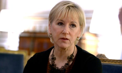 Israel 'crossed line' says Swedish Foreign Minister