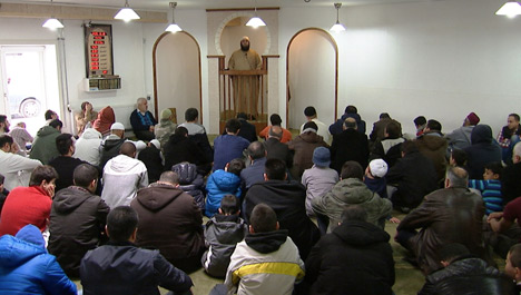 Danish mosque reports threats to police
