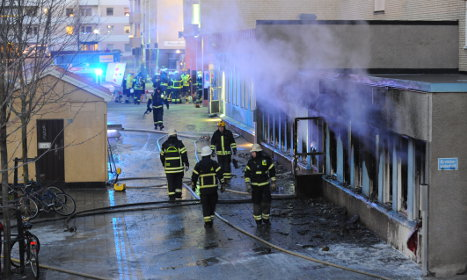 Accident could have caused mosque fire