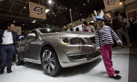 New Volvo cars to reach United States from China