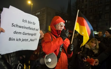 PEGIDA expects record rally on terror fears