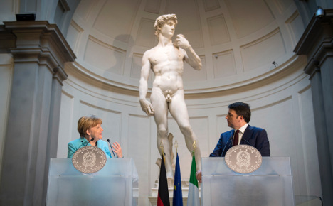 Merkel to Greece: 'remain part of our story'