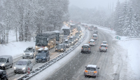 Coach carrying Brits crashes in French Alps