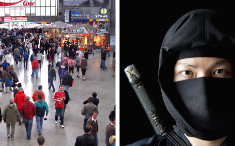 Young man's 'ninja day' sows havoc in Munich