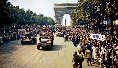 IN IMAGES: France's biggest street rallies