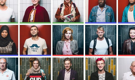 Meet the man snapping Stockholm's subway