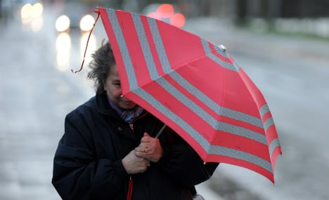 Hurricane-force winds expected at weekend