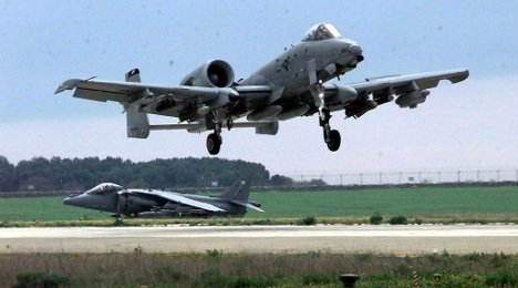 US Air Force sends tank busters back to Germany