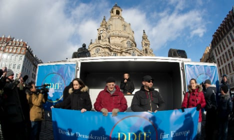 Pegida offshoot fails to draw Dresden crowds