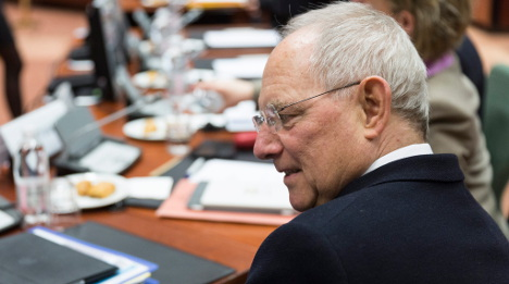 Schäuble rejects Greek bailout without reforms