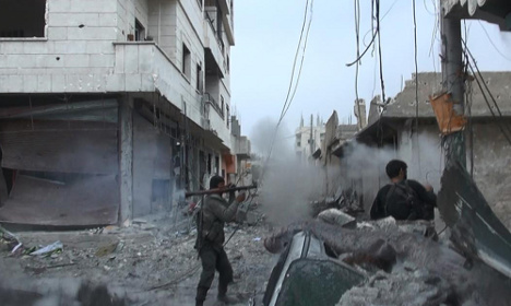 'Syria's the biggest threat to Sweden in 70 years'