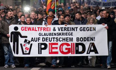 'Xenophobes' are one third of Pegida: study