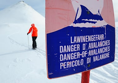 Avalanche danger rises to 'high' in Tyrol