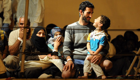 'Relocate Syrian refugees within Europe': UN