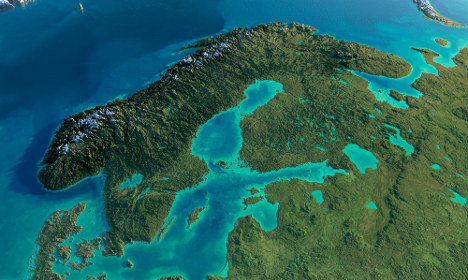Could maps of Sweden be completely redrawn?