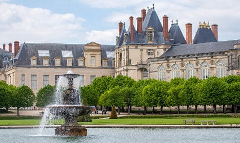 Treasures stolen from Fontainebleau palace