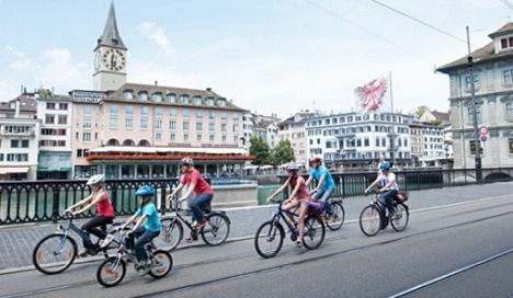 Zurich ranks first among Europe's 'sootfree cities'