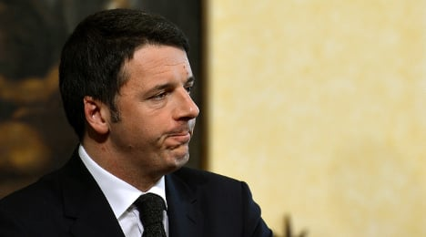 Italy PM in emergency helicopter landing