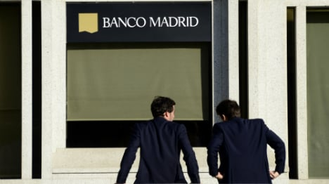 Breaking: Banco Madrid files for bankruptcy