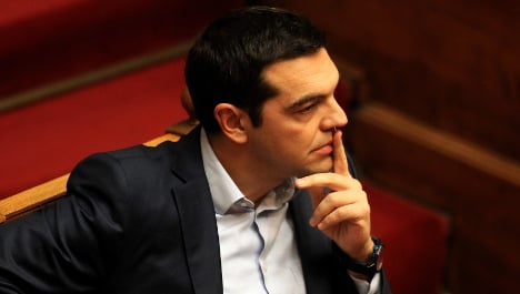 Tsipras comments 'not the done thing': Germany