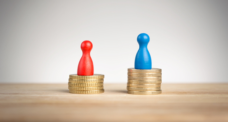 Italy's gender pay gap getting worse