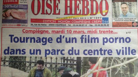 French newspaper stuns readers with porn pics