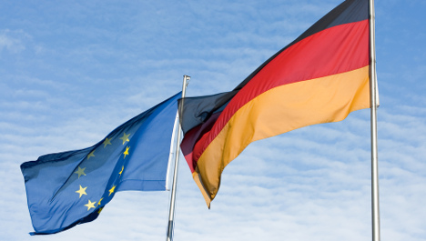 Germans happy with being EU top dogs