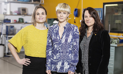 Swedish pop star pushes for more girls in tech