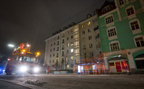 Munich toddler safe after late-night adventure