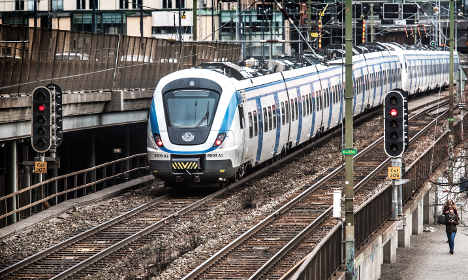 Rush-hour chaos for Swedish rail commuters