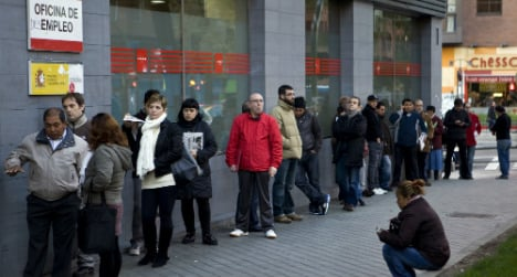 Spain sees increase in first quarter jobless