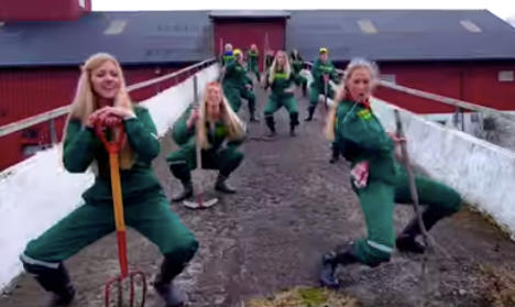 Norway farming song is surprise YouTube hit