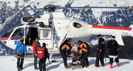British boy killed in Alps 'was skiing with family'