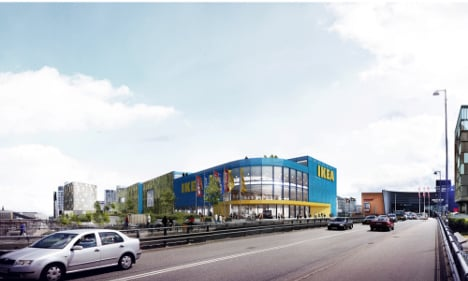 First 'city warehouse' in Scandinavia for Ikea