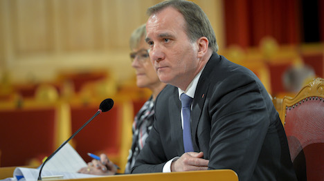 Löfven: Palestine move was done by the book