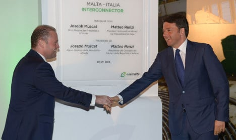Malta ends power cuts with link to Italy