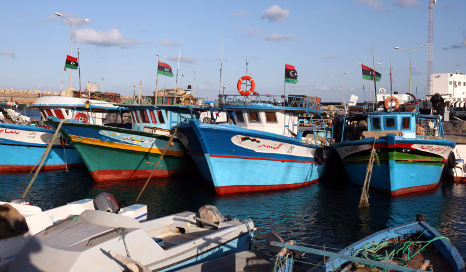 Navy takes control of boat seized off Libya