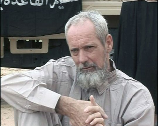 French special forces free man in Mali