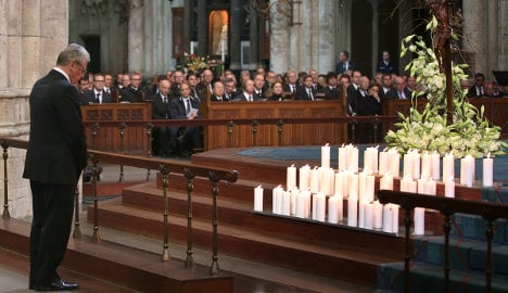 Germany mourns victims of Alps plane crash