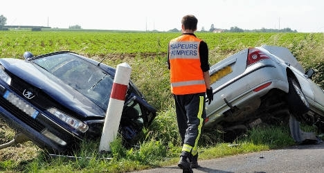 French road deaths rise for first time in 12 years