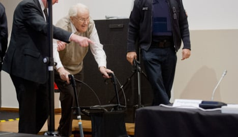 Auschwitz trial on hold as defendant falls ill