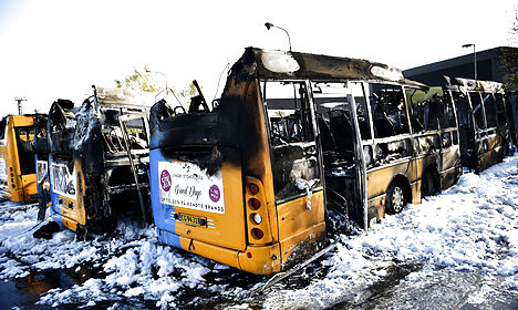 Copenhagen bus fire may be tied to Israel ads
