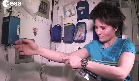 How to stay clean while floating in space