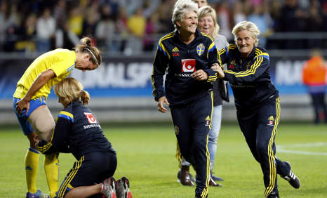 Swedes want 'equal' World Cup (for women)