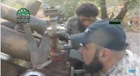 Syrian rebels show off Nazi howitzer in video